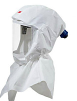 Headset Splash Hood Replaceable Anti-chemical Warfare Masks (3M S-707-10)