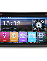 2 Din 6.2''Car DVD Player with GPS Navi Radio/RDS in Dash   BT SWC Mirror-link USB/SD