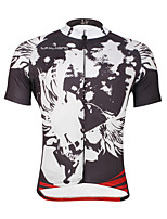 PALADIN® Cycling Jersey Men's Short Sleeve BikeBreathable / Quick Dry / Ultraviolet Resistant / Reduces Chafing / Sweat-wicking / Soft /