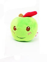 Cat / Dog Toy Pet Toys Plush Toy / Squeaking Toy Squeak / Squeaking Plush Red / Green