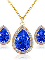 Alloy Bridal Jewelry Sets Necklaces Earrings Wedding/Party 1set
