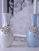 European-Style Luxury Home Bone China Ornaments Handmade Ceramic Vase Ceramic Decorative Crafts