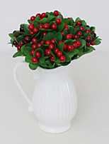 Hi-Q 1Pc Decorative Flower Berries Wedding Home Table Decoration Artificial Flowers