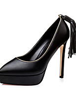 Women's Shoes  Fall Heels / Pointed Toe / Closed Toe Clogs & Mules Dress Stiletto Heel Others Black / Brown / Red / Gray