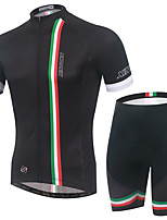 Men's Cycling Clothing Sets New Fashion Italy Pattern Bicycle Sports Comfortable Short Cycling Jersey 1 Set