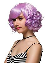la moda del cabello rizado rojo destaca corto pelucas pelucas sintéticas