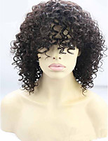 Cheap Price Short Length Black Kinky Curly Raw Unprocessed Brazilian Virgin Human Hair Wig Hot Sale.