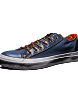 Converse Chuck Taylor All Star Men's Shoes Denim Outdoor / Athletic / Casual Sneakers Indoor Court Flat Heel Blue