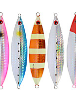 2pcs/lot Afishlure Metal Plate Lead Jig 40g Jigging Spoon Sea Baits Fishing Lure Sea Fishing Boat Fishing