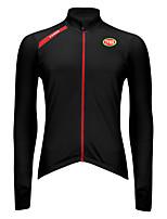 Deportes Bicicleta/Ciclismo Tops Hombres Mangas largas Transpirable / Listo para vestir / Mantiene abrigado / Tejido Ultra LigeroTerileno