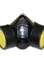 máscaras de protección de polvo y gas (material: goma&plástica&Carbón activado;)