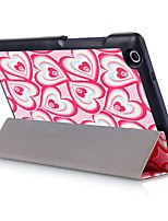 8 Inch Printing Pattern PU Leather Case with Auto Sleep for Lenovo Tab3 8(TB3-850F/M) and TAB2 A8-50F(Assorted Colors)