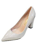 Women's Heels Summer Heels Patent Leather Wedding / Casual Chunky Heel Others Black / Red / Silver / Gray Others
