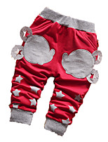 Baby Casual/Daily Print Pants,Cotton Fall Blue / Red / Gray