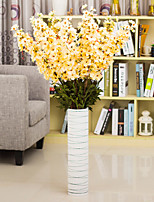 Hi-Q 1Pc Decorative Flowers Real For Wedding Home Table Decoration Delphiniums Orchid Artificial Flowers