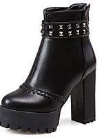 Women's Shoes Fall / Winter Platform / Fashion Boots / Combat Boots Boots Outdoor / Party & Evening / CasualChunky