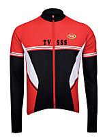 Deportes Bicicleta/Ciclismo Tops Hombres Mangas largasTranspirable / Listo para vestir / Resistente al Viento / Mantiene abrigado /