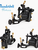 Top Design Swiss Motor Tattoo Machine Silver/Black Thunderbolt Force Rotary Tattoo Machine