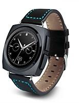 кожаный ремешок умные часы AL11 с сенсорным экраном сердечного ритма функции датчика шагомер толчок сообщения