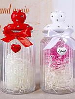 Glass Wishing Drift Bottle Gifts (Random Colors)