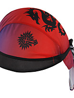 Red Dragon Pirates Hat Cycling Outdoors Pirates Headband Mountain Road Cycling Sport Cap