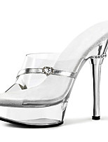 Women's Heels Summer Fall Heels / Platform / Sandals / Basic Pump PVC Party & Evening  / Casual Stiletto / Crystal
