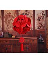 Adornos(Rojo,Material Ecológico) -Tema Clásico