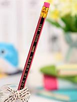 u1431 бутик-красный и черный карандаш студенты бессвинцовые насосная яда студенты ХБ карандаш призы