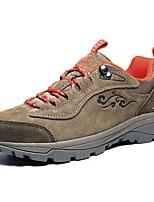 Серый / Серо-коричневый-Женский-Для прогулок / Для занятий спортом-Замша-На плоской подошве-Удобная обувь-Спортивная обувь