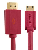 POSH-E HD01017 Red HDMI A to C