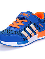 Boy's Sneakers Spring / Fall Flats PU Casual Flat Heel Lace-up / Others Black / Blue Others