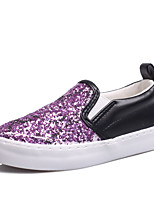 Girl's Loafers & Slip-Ons Spring / Summer / Fall Comfort / Round Toe / Flats Glitter Outdoor / Casual / Athletic Flat Heel Others / Gore
