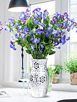 1 1 Филиал Пластик Другое Букеты на пол Искусственные Цветы 31.4inch/80cm