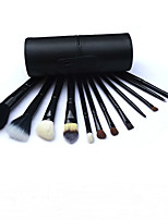 12 Cylinder Makeup Brush High-Grade Animal Wool