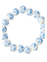 Bracelet Strand Bracelet Alloy Round Fashion Daily Jewelry Gift Blue,1pc