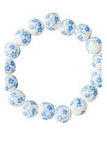 Armband Strand Armband Legering Round Shape Mode Dagligen Smycken Present Blå,1st