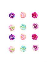 Boucle Forme de Fleur Boucles d'oreille goujon Bijoux 1set Mode / Vintage / Style Punk / AdorableSoirée / Quotidien / Décontracté /