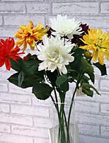 1pc 1 Ramo Poliéster / Plástico Outras Flor de Mesa Flores artificiais 29.1inch/74CM