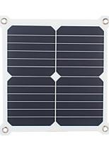 13w 5v sortie usb double haute efficacité chargeur de panneau solaire pour 6s iphone samsung xiaomi huawei (de swh13u)