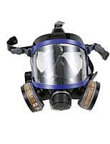 nh-9006 de silicona protector respirador con filtro de doble cartucho químico completo de cara completa