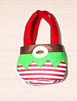 Bolso del caramelo 1pc navidad fuentes del partido festivos duende verde sin decoración saco de arranque