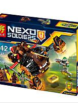 l'avenir crush chevalier de lave assemblé des blocs de construction de l'enfant humain jouets puzzle