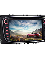 quad core da 7 pollici 2 din lettore dvd Android 5.1.1 dell'automobile per Ford Mondeo 2007 ~ 2011 con la radio bluetooth collegamento
