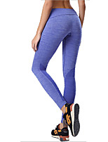 Women Solid Color Legging,Cotton / Polyester