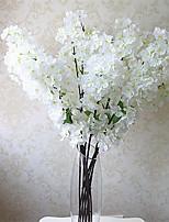 Hi-Q 1Pc Decorative Flowers Sakura Wedding  Home Table Decoration Artificial Flowers
