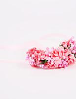 Свадебные цветы Ручная работа Розы Букетик на запястье Свадьба / Партия / Вечерняя Полиэфир / Шифон / Поролон Около 10 см