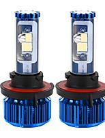 liancheng® 120w 10000lm 9 ~ 32V высокая яркость Cree COB светодиодные фары комплект-H13 / 9008 6k 8k для автомобиля, внедорожных, UTV,