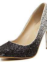 Women's Heels Spring / Summer/Fall/Winter Heels Glitter Party & Evening / Dress / Casual Stiletto Heel Silver/Gold