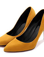 Women's Heels Spring / Fall Heels / Pointed Toe Fabric Office & Career / Party & Evening / Dress Stiletto Heel