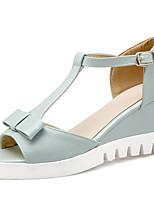 Women's Sandals Spring / Summer / Fall Peep Toe / Platform / T-Strap /  Outdoor / Dress / Casual Wedge HeelBowknot /